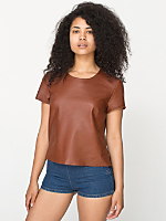 Leather T-Shirt