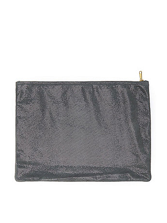 Large Metallic Carry-All Pouch