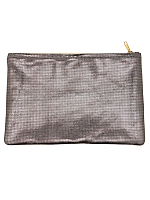 Medium Metallic Carry-All Pouch