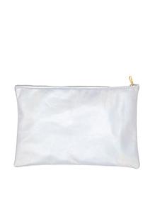 Medium Metallic Carry-All Pouch