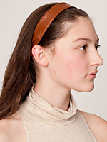Small Leather Headband