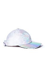 Hologram Leather Hat