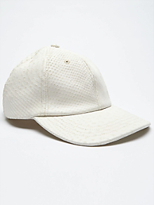 Printed Leather Hat