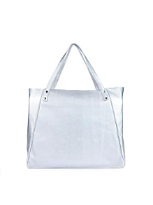 L'Epicier Metallic Leather Bag