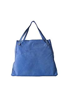 L'Epicier Suede Leather Bag