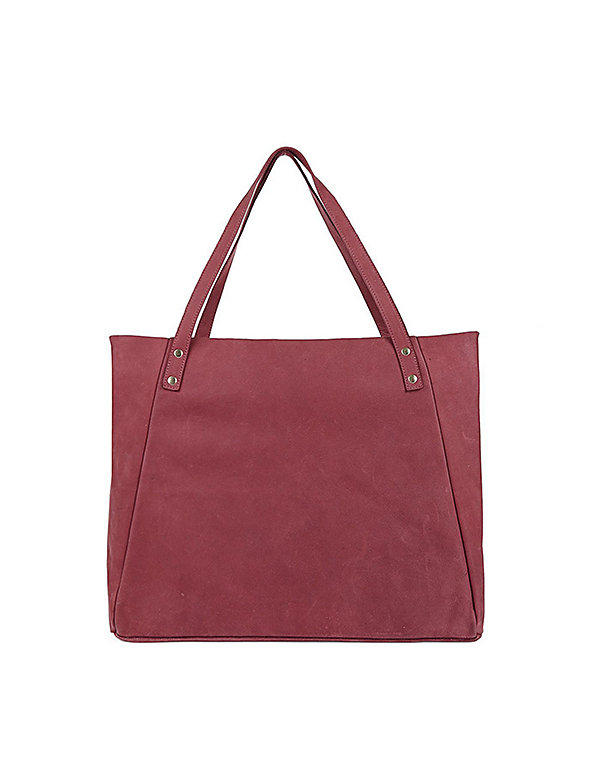 L'Epicier Suede Leather Bag