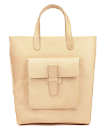 Sturdy Leather Tote