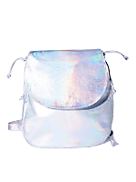 Hologram Silver Laser Backpack