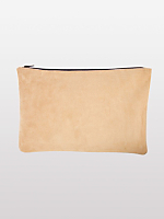 Medium Suede Carry-All Pouch