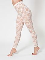 Nylon Spandex Stretch Lace Legging