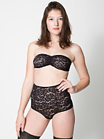 Dahlia Lace High Waist Brief
