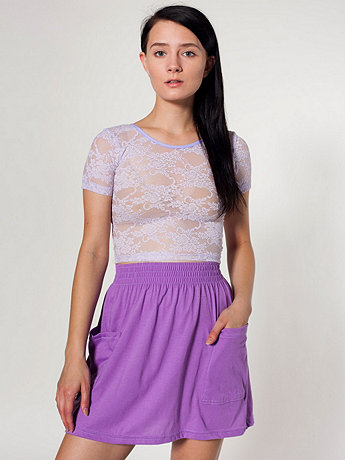 Jersey Pocket Skirt