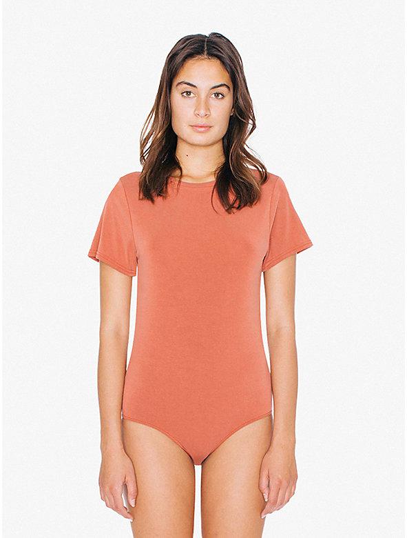 Brushed Jersey T-Shirt Bodysuit