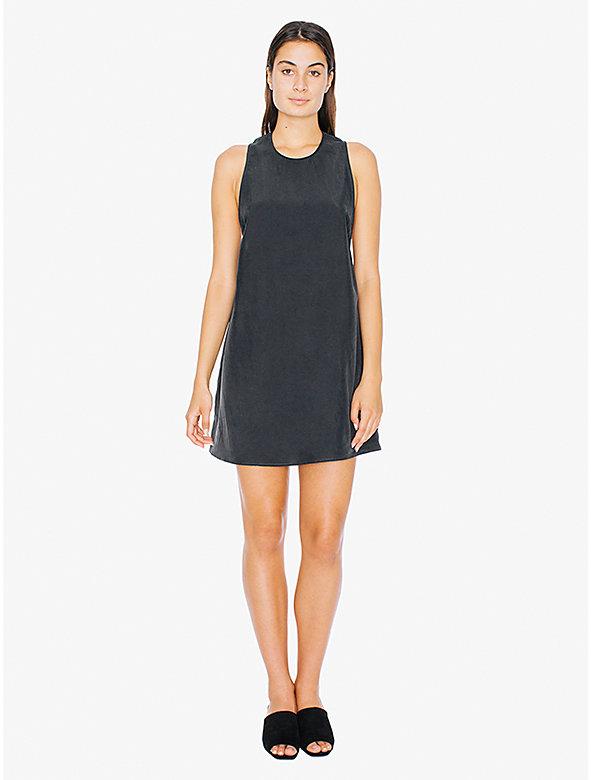 Faux Silk Dakota Mini Dress