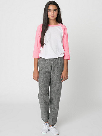 Youth Salt and Pepper Fleece Sweatpant