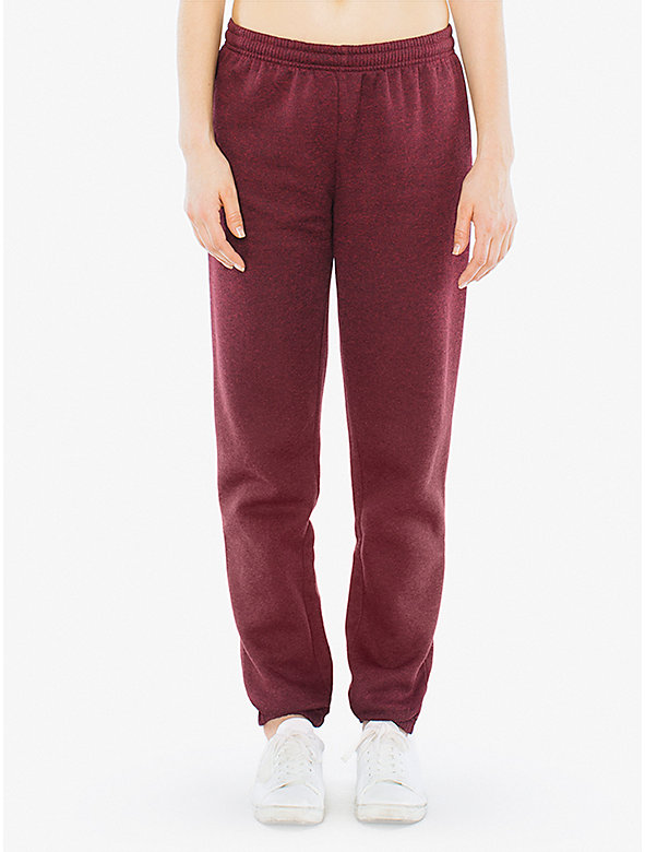 Unisex Peppered Fleece Boyfriend Sweatpant