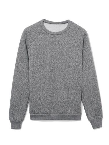 Salt and Pepper Raglan Crewneck Sweatshirt