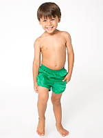 Kids Nylon Taffeta Swim Trunk