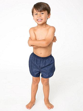 Kids Nylon Taffeta Swim Trunk