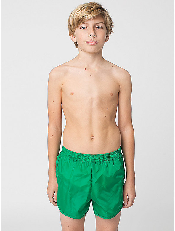 Youth Nylon Taffeta Swim Trunk