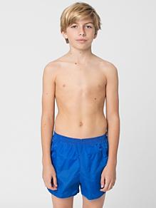 Youth Nylon Taffeta Swim Trunk