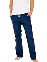 Nylon Taffeta Slim Fit Pant