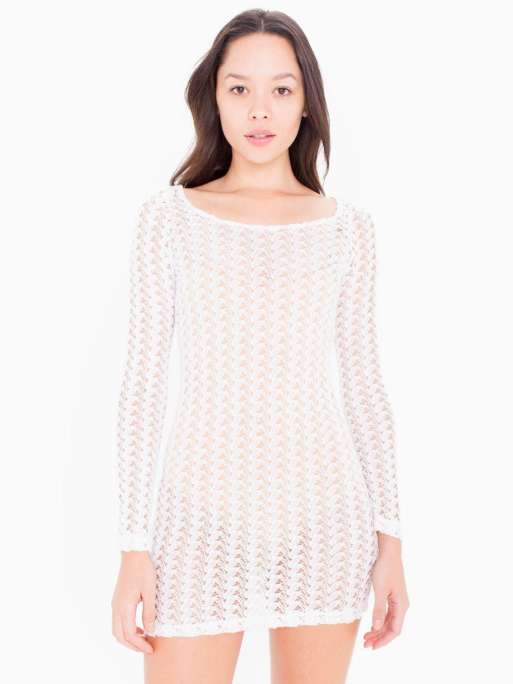 White turtleneck dress long sleeve