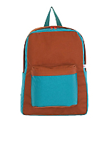 Color Block Nylon Cordura® School Bag
