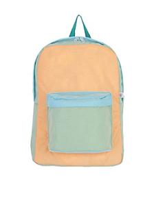 Color Block Nylon Cordura® School Bag