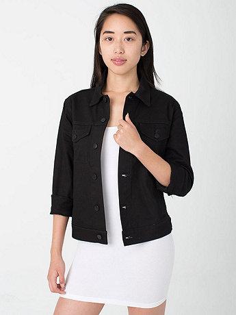 Unisex Colored Denim Jacket