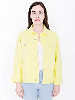 Unisex Colored Denim Jacket