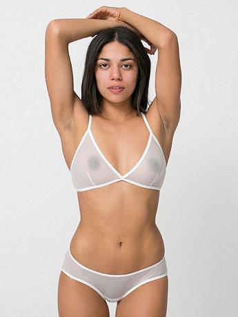 Nylon Spandex Micro-Mesh Low Slung Panty