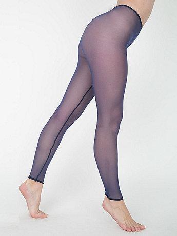Nylon Spandex Micro-Mesh Legging