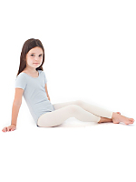 Kids Opaque Footless Pantyhose