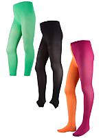 Kids Opaque Tights Variety Pack (3-Pack)