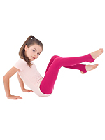 Kids Opaque Stirrup Tight