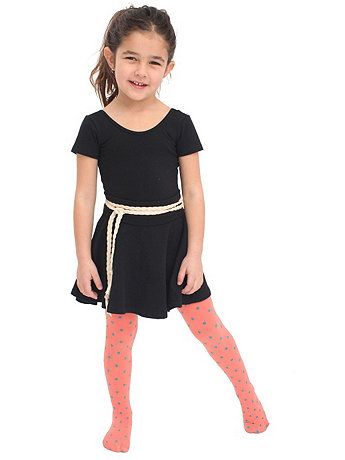 Kids Opaque Dots Shapes Tight