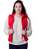 Unisex Poly-Filled Snow Vest