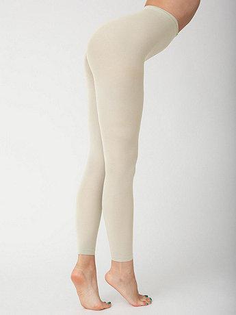 Opaque Footless Pantyhose