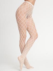 Rounded Diamond Fishnet