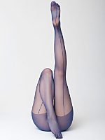 Super Sheer Back Seam Pantyhose
