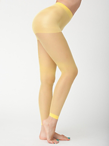 Super Sheer Footless Pantyhose
