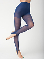 Sheer Luxe Stirrup Pantyhose
