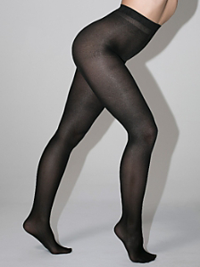 Opaque Liquid Metallic Pantyhose