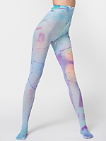 Multi Watercolor Pantyhose