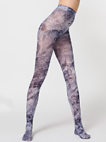 Opaque Limited Print Pantyhose