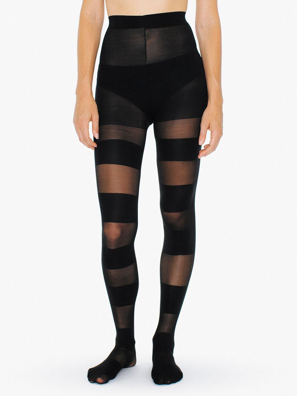 Pantyhose with socks sewn on