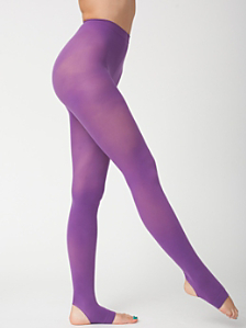Opaque Stirrup Pantyhose