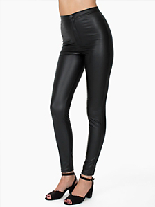 Vegan Leather Pant