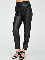 Vegan Leather Tap Pant